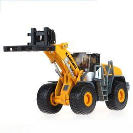 Wholesale Model Cars Diecast Car Model Toy Trucks Loader Alloy Car Kids Toys Gift Items Toy Forklift