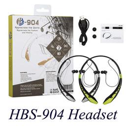 HBS-904 Headsets Neckbands Wireless Stereo Earphones Bluetooth 4.0 Sport Headphone for HBS904 HBS-904 Headsets EAR190