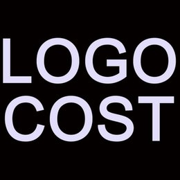 Wholesale Logo cost for Customization service No need shipping nd