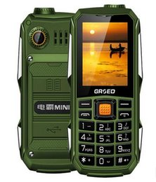 Wholesale Hotsale military field level three proofings mobile phones Super long standby mah many languages English Arabic Hebrew Spanish