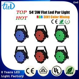 Wholesale Top Quality W Professional Led Stage Lights High Power RGB With DMX512 Master Slave Par Light Dj Controller