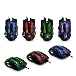 Factory Price 2400DPI LED Optical 6D USB Wired Gaming Game Mouse For PC Laptop Game 51030 P14