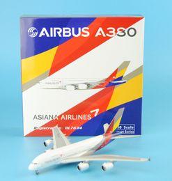 Wholesale Phoenix Korea Asiana Airlines A380 HL7634 plane model aeroplane model aircraft