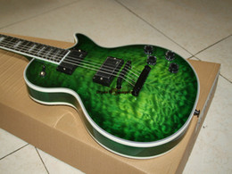 Green Custom Electric Guitar les custom Guitar High Quality Ebony fingerboard OEM Musical instruments Newest Light