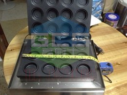 Wholesale 12 hole Waffle maker Bean cake machine Layer cake Snack Equipment