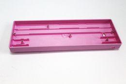 Wholesale Caso plástico del teclado GH60 púrpura Mini de color rosa para el teclado para juegos mecánicos Compatible Poker2 Pok3r Faceu carcasa de plástico