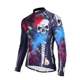 Tasdan Sportswear Mens Cycling Clothing Long Sleeve Mountain Bike Jersey Wear Fashion Road Cycling Jersey Clothes Men