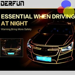 Wholesale 2cm m Reflective Tape Sheeting Car Styling Reflect Sticker Auto Motorcycle Bike Decoration Decal Whole Body Color Strip Sheet