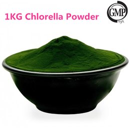 Wholesale 1KG Organic Chlorella Powder Superior Chlorophyll Carotenoids and Protein Balance Blood Pressure and Blood Sugarchlorella