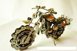 Wholesale 2016 hot sale motorcycle davidson models oversized iron metal crafts creative gift ideas home decoration crafts