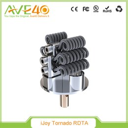 Wholesale 2016 Original New IJOY Released Tornado W RDTA Distributor Opportunities Capable Two Post