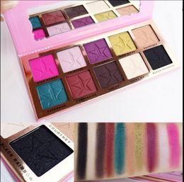 Wholesale 1 set color Five star beauty killer eyeshadow cosmetics eye shadow makeup palette Kyshadow matte pressed powder Carli Bybel Highlighter