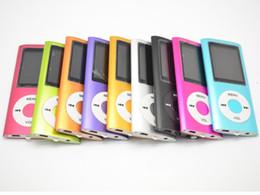 "Hot Sale Cheap Real Capacity 16GB Slim 1.8"" 4th LCD MP3 MP4 Player FM Radio Video Multi Colors"