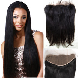 Future Time Beauty Hair Product 8A Brazilian Straight Lace Frontal 13x4 Full Cuticle Hair Full Lace Frontal Closure Hidden Knots