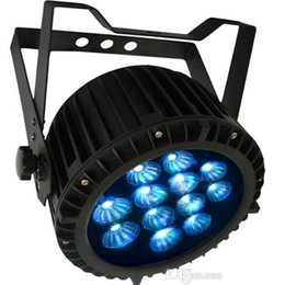 Free shipping Factory direct CE RoHs UL Listed 12x18W Flat RGBAW+UV Outdoor 6 in 1 LED Par Cans