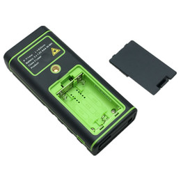 Wholesale SW S50 Color display Rechargeable m Laser distance meter Rangefinder Tape with Bubble Level measure Area Volume Tool