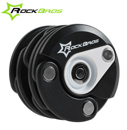 Wholesale Rockbros Bike Antitheft Lock Bicycle Foldable Chain Lock Hamburg Design With Key