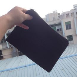 (60pcs lot)plain black color pure cotton canvas coin purse with black zipper unisex casual wallet blank cotton pouches black cotton zip bag