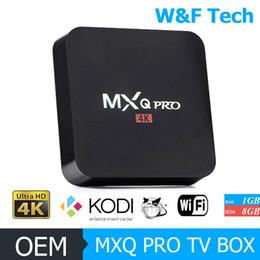 Complète android à vendre-MXQ PRO 4K / MXQ-4K Boîtier TV Quad Core RK3229 KODI 16.1 Entièrement équipé Android 5.1 Android Smart OTT TV Set Top Box