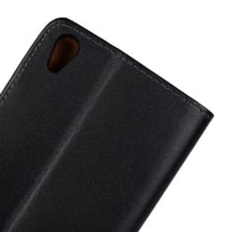 Descuento teléfonos celulares casos de cuero Huawei asciende la caja de cuero original de la caja el 100% del teléfono celular de P7 para Huawei Ascend P7 la cubierta del tirón de la cubierta del teléfono móvil BagsCases Accessories