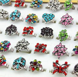 Hot!Hot!Hot!Wholesale 50pc set High Quality Silver Rings Alloy Mix Color Rings for Women