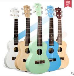 Wholesale Andrew Bright green lake light inch Hawaiian ukulele ukulele piano children baby gift High cost of high quality guitar