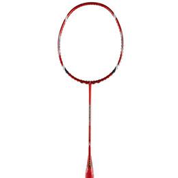 Wholesale High Quality Sport dexterous Badminton Rackets red Durable Badminton Racket Racquet Carbon Fiber Badminton Racket Own brand