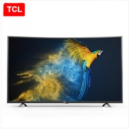 Wholesale TCL inch curved plate television R best curvature Original ecological HDR Bit core processor RGB true K Ultra HD TV