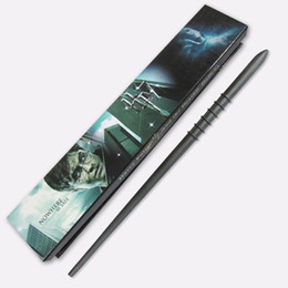 New version harry potter series Draco Malfoy Magical Wand with box as birthday Cosplay Gigt
