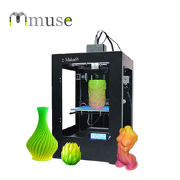 New Single Nozzle Heatbed Mix Color Printing FDM Desktop 3D Printer Machine for Fast Prototyping