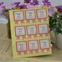 Full color printed commodity gift FOR YOU package sticker label