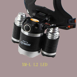 Wholesale Headlamp Boruit Lumen Super Bright X CREE XML L2 LED Head Torch Flashlight USB Lamp Headlight