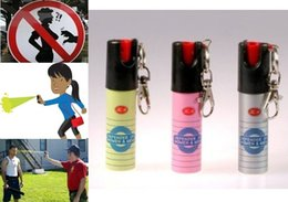 Wholesale HQ Self Defense Pepper Spray RY Defender Hot Protection Device Safety Security with leather case in stock now