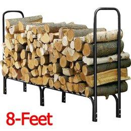 US 'Outdoor Heavy Duty Steel Bois de chauffage Bois de chauffage à partir de maisons en rondins de bois fabricateur