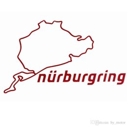 Nurburgring sport Car sticker baby in car body stic sports mind For BMW