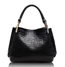 Wholesale 2016 noble new fashion crocodile pattern picture handbag Crossbody Bags designer women handbags high quality luxury bags promotion