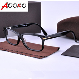 Wholesale 2016 Hot Eyeglasses Optical Glasses Frame Spectacles TOM Brand Myopia Frame Fashion Retro TF5146 Italy Brand Optical Frame with case