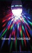 KTV small room light Disco dj rgb full color led rotating lamp LED party stage light