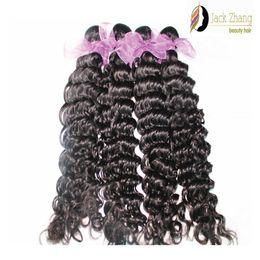 8A 100% Vietnamese Hair Extensions 10-28inch Deep Wave Natural Black Hair Bundles Unprocessed Vietnamese Human Hair Weave