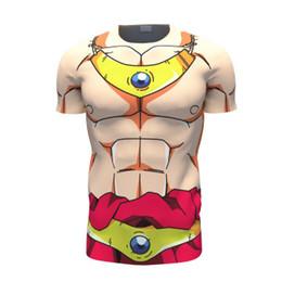Dragon Ball Z Broly T-Shirt 3D t shirt Anime Super Saiyan DBZ Characters t shirts Women Men Gym Fitness t-shirt tee tops