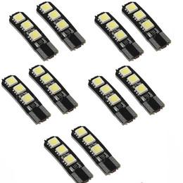 10PCS Canbus double brillant sans erreur T10 W5W 194 168 6SMD 5050 Lampe de lecture de lampe de largeur LED Lampe de lampe de côté Wedge Light JTCL028-ly à partir de à double lampe de lecture fournisseurs