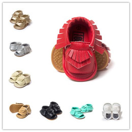 2016 9Colors Baby moccasins soft sole Rubber soled sandals shoes first walker shoes baby newborn maccasions shoes Freeship 120