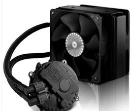 CoolerMaster two 12cm PWM fans CPU water cooler Seidon (HAISHEN) 120XL RL-S12X-24PK-R1 for multi-platform