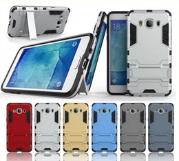 For Samsung J5 2016 Case Rugged Combo Hybrid Armor Bracket Impact Holster Protective Cover Case For Samsung Galaxy J5 2016 J510