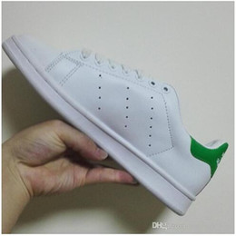 Wholesale Lowest Price NEW STAN SMITH SNEAKERS CASUAL LEATHER MEN S AND WOMEN S SPORTS RUNNING JOGGING SHOES MEN FASHION CLASSIC FLATS SHOES