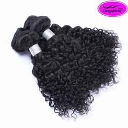 Wholesale 8A Brazilian Jerry Curly Unprocessed Human Hair Extensions Indian Malaysian Peruvian Cambodian Curly Hair Weaves Accept Return