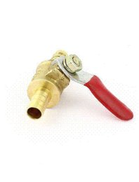 Wholesale 8mm Degree Rotating Handle Brass Flow Shut Off Control Brass Ball Valve ball valve pvc
