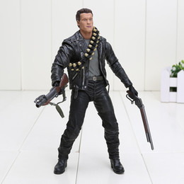 Wholesale Terminator Judgment Day figure T Arnold Schwarzenegger boxed PVC Action Figure Collectible Model Toy approx cm