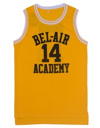 Wholesale Banks Basketball Jersey Will Smith Fresh Prince Jersey Shirts Black Hip Hop Basketball Jersey Fashion Sport T shirts