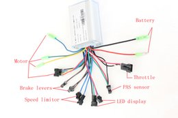 Wholesale 250W V V DC MOFSET brushless controller BLDC motor controller E bike E scooter electric cycling bicycle Motor speed controller